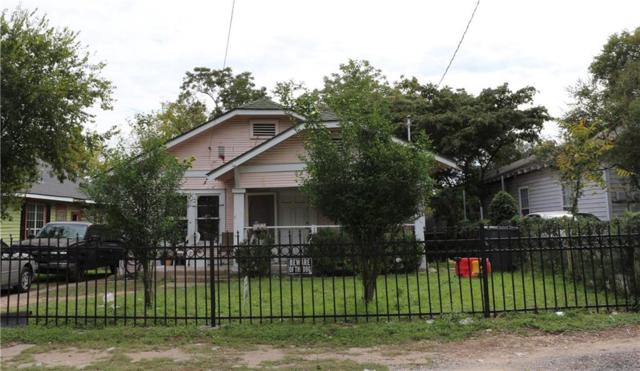 806 E 12th Street, Dallas, TX 75203 (MLS #13950913) :: Robbins Real Estate Group