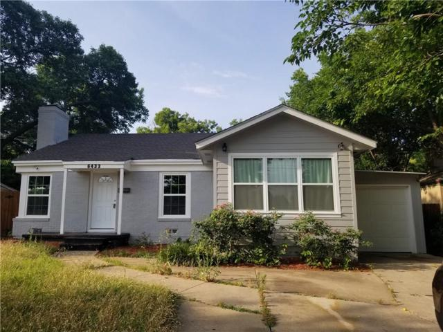 6433 Calmont Avenue, Fort Worth, TX 76116 (MLS #13951288) :: The Chad Smith Team