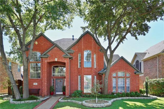 851 Chalfont Place, Coppell, TX 75019 (MLS #13951395) :: The Rhodes Team