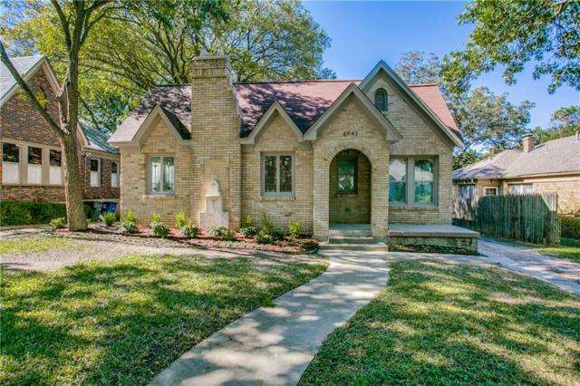 6943 Lindsley Avenue, Dallas, TX 75223 (MLS #13951401) :: RE/MAX Town & Country