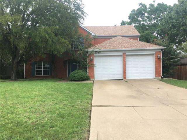 1519 Warwick Drive, Mansfield, TX 76063 (MLS #13951673) :: The Rhodes Team