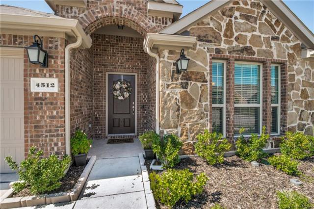4512 Bayport Drive, Frisco, TX 75036 (MLS #13952425) :: RE/MAX Town & Country
