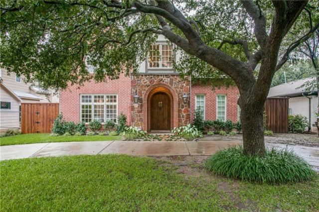 4513 Pomona Road, Dallas, TX 75209 (MLS #13952436) :: Van Poole Properties Group