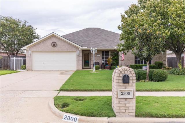 2300 Charleston Drive, Mansfield, TX 76063 (MLS #13952636) :: The Hornburg Real Estate Group