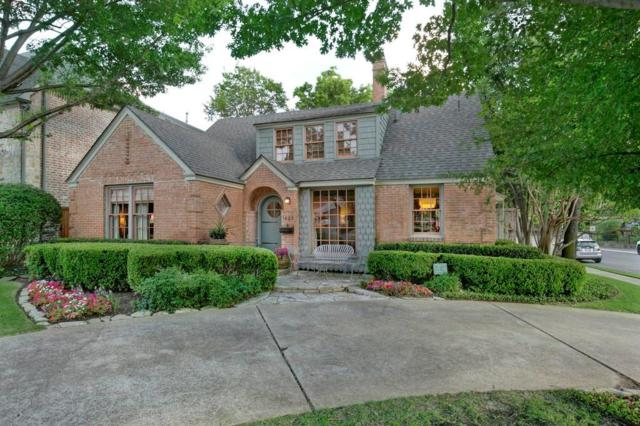 3469 Amherst Avenue, University Park, TX 75225 (MLS #13952795) :: RE/MAX Town & Country
