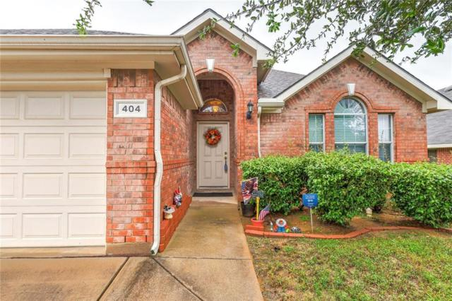 404 Renee Drive, Euless, TX 76040 (MLS #13952889) :: The Chad Smith Team