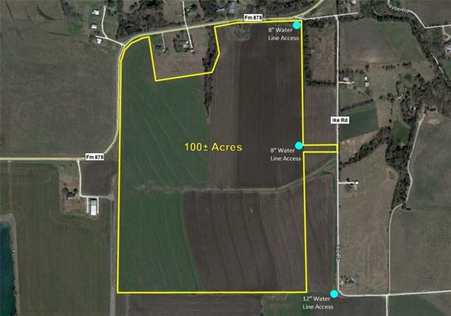 100 ac Fm 878, Waxahachie, TX 75165 (MLS #13953324) :: The Real Estate Station