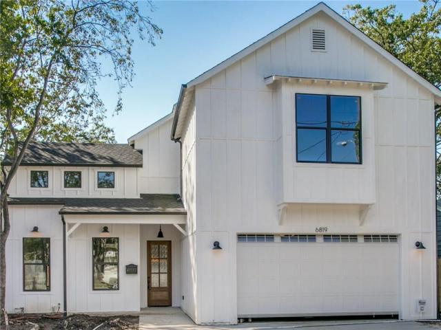 6819 Prosper Street, Dallas, TX 75209 (MLS #13953336) :: Robbins Real Estate Group