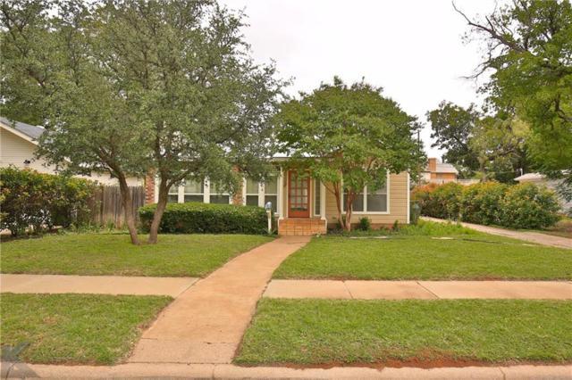 1341 Santos Street, Abilene, TX 79605 (MLS #13953690) :: Charlie Properties Team with RE/MAX of Abilene