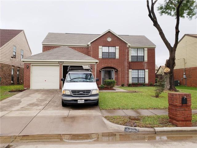 2333 Snowdon Drive, Arlington, TX 76018 (MLS #13953806) :: Robbins Real Estate Group