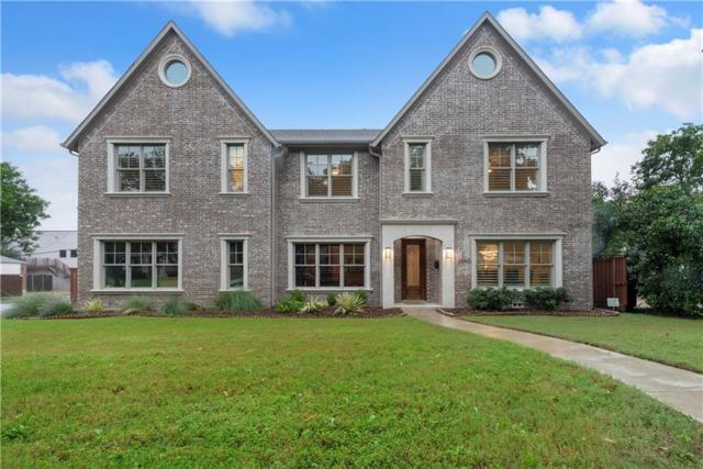 2942 Westminster Avenue, University Park, TX 75205 (MLS #13954173) :: Van Poole Properties Group