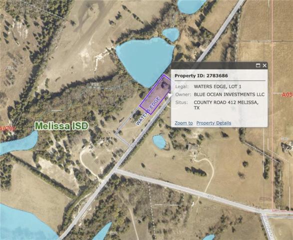 0 County Road 412, Melissa, TX 75071 (MLS #13954306) :: RE/MAX Pinnacle Group REALTORS