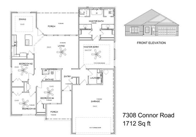 7308 Connor Road, Abilene, TX 79602 (MLS #13955328) :: Charlie Properties Team with RE/MAX of Abilene