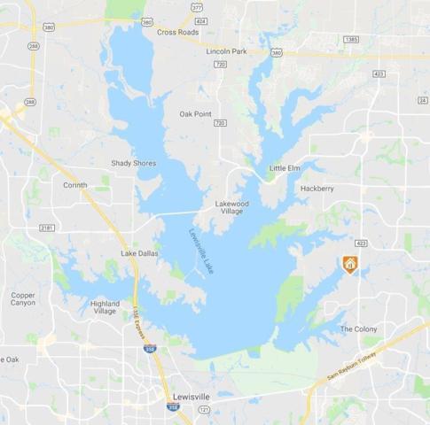 4553 N Shore Drive, The Colony, TX 75056 (MLS #13955352) :: Robinson Clay Team