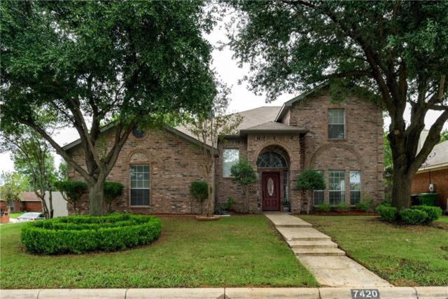 7420 Marsarie Court, Fort Worth, TX 76137 (MLS #13955397) :: Real Estate By Design