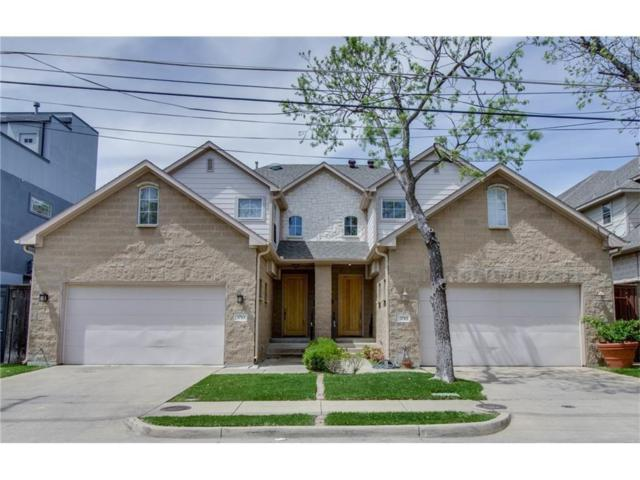 3715 Dorothy Avenue, Dallas, TX 75209 (MLS #13955437) :: Van Poole Properties Group