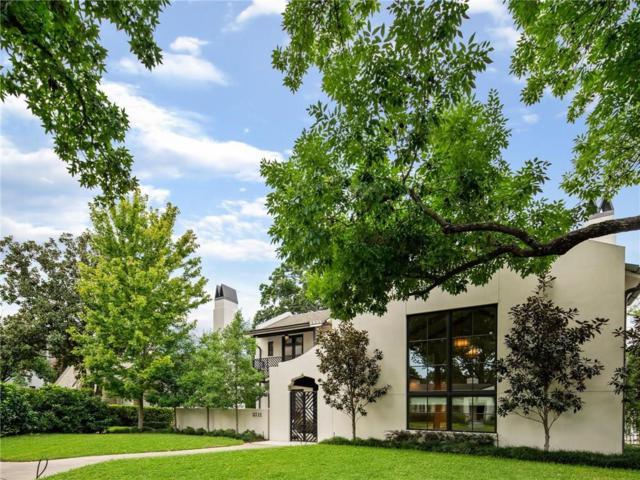 5711 Bryn Mawr Drive, Dallas, TX 75209 (MLS #13955462) :: The Real Estate Station