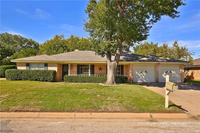 60 Stonegate Road, Abilene, TX 79606 (MLS #13955822) :: RE/MAX Town & Country