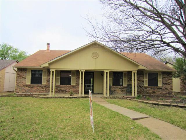 413 Timberbend Trail S, Allen, TX 75002 (MLS #13955982) :: Frankie Arthur Real Estate