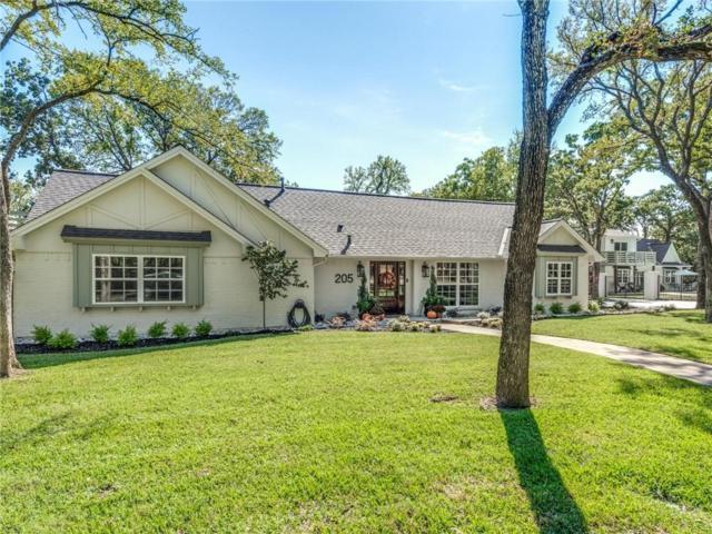 205 Valley View Drive S, Colleyville, TX 76034 (MLS #13956036) :: Team Hodnett