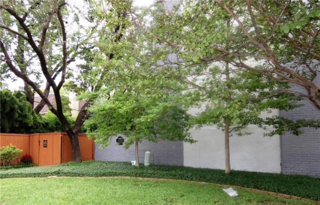 3618 Gillespie Street #111, Dallas, TX 75219 (MLS #13956382) :: The Heyl Group at Keller Williams
