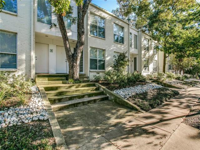4122 Travis Street #5, Dallas, TX 75204 (MLS #13956459) :: Van Poole Properties Group