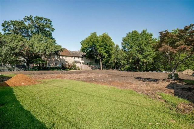 6705 Golf Drive, University Park, TX 75205 (MLS #13957005) :: RE/MAX Town & Country