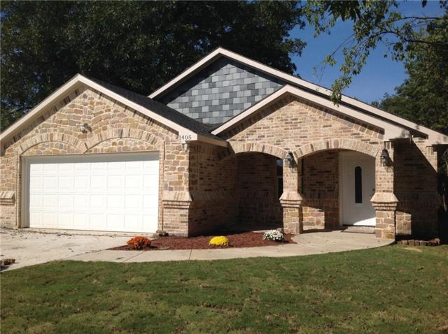 1405 Elmwood Avenue, Fort Worth, TX 76104 (MLS #13957143) :: RE/MAX Town & Country