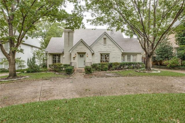3124 Greenbrier Drive, University Park, TX 75225 (MLS #13957193) :: Robbins Real Estate Group