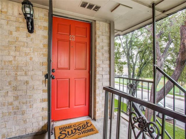 4320 Bellaire Drive S 221W, Fort Worth, TX 76109 (MLS #13957624) :: The Heyl Group at Keller Williams