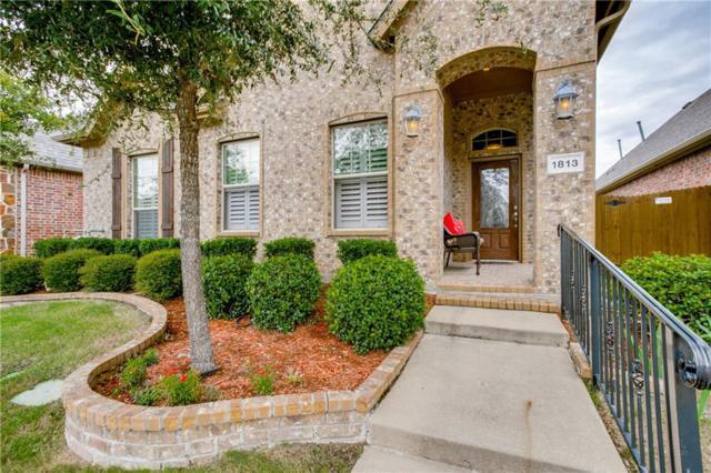 1813 Sanderlain Lane, Allen, TX 75002 (MLS #13957844) :: Hargrove Realty Group