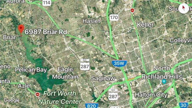 6987 Briar Road, Azle, TX 76020 (MLS #13960560) :: RE/MAX Town & Country