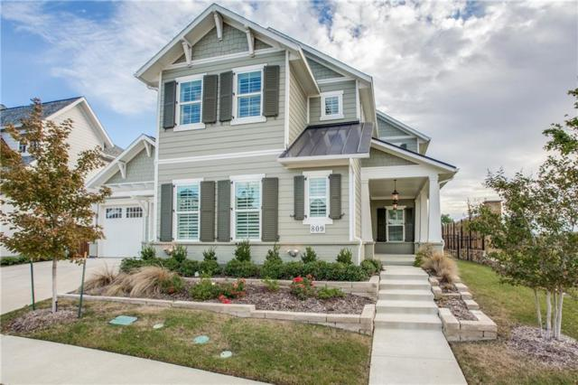 809 Jensen Street, Allen, TX 75013 (MLS #13960680) :: RE/MAX Town & Country