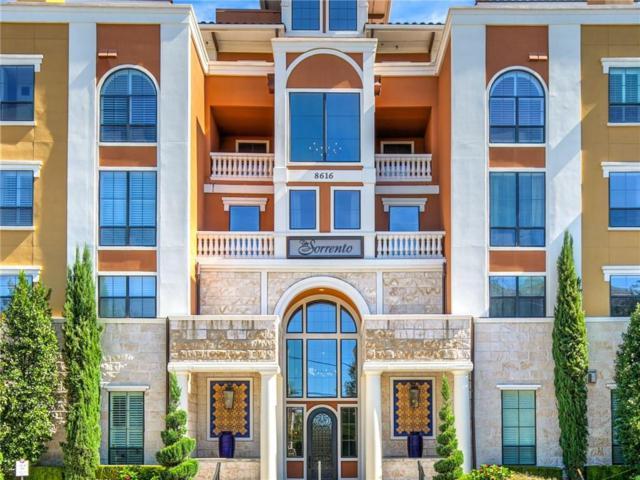 8616 Turtle Creek Boulevard #203, Dallas, TX 75225 (MLS #13961080) :: Robbins Real Estate Group
