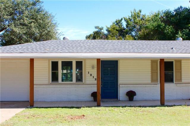 1212 Valentine Street, Hurst, TX 76053 (MLS #13961267) :: RE/MAX Town & Country