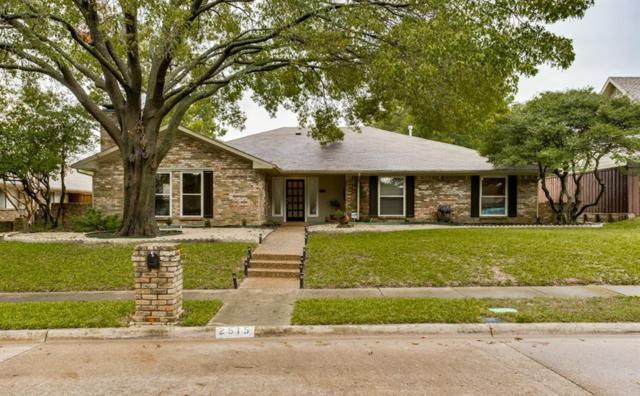 2515 Indian Hills Drive, Plano, TX 75075 (MLS #13961649) :: The Paula Jones Team | RE/MAX of Abilene