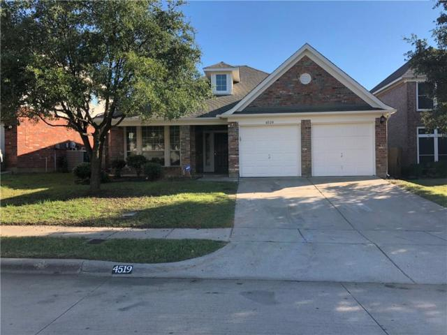 4519 Shady Hollow Drive, Fort Worth, TX 76123 (MLS #13961796) :: RE/MAX Town & Country