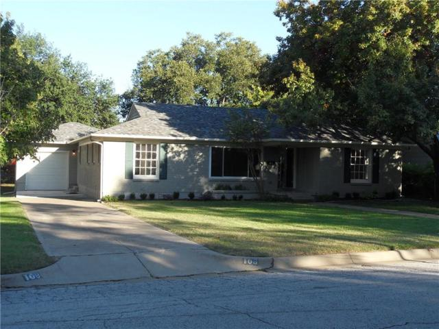 108 Lindenwood Drive, Fort Worth, TX 76107 (MLS #13962388) :: The Chad Smith Team