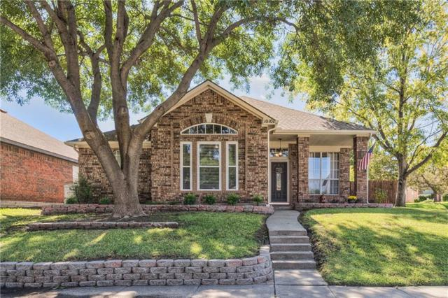 10101 Burgundy Drive, Frisco, TX 75035 (MLS #13962631) :: RE/MAX Town & Country