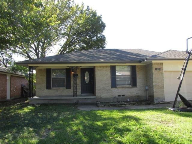 1118 Vicksburg Drive, Garland, TX 75041 (MLS #13962731) :: RE/MAX Pinnacle Group REALTORS