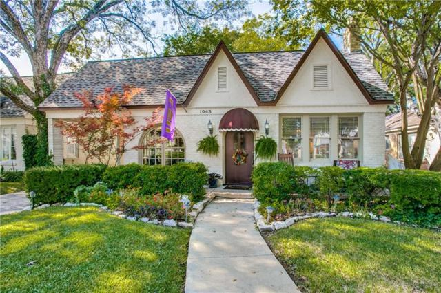 1043 N Windomere Avenue, Dallas, TX 75208 (MLS #13963010) :: RE/MAX Town & Country