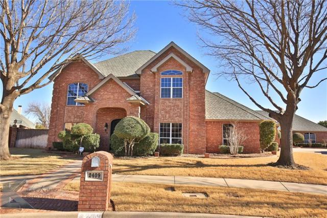 2409 Spyglass Hill Court, Abilene, TX 79606 (MLS #13963247) :: The Paula Jones Team | RE/MAX of Abilene