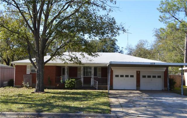 429 Souder Drive, Hurst, TX 76053 (MLS #13963580) :: The Heyl Group at Keller Williams