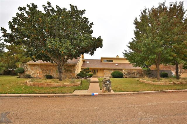 1 Pinehurst Street, Abilene, TX 79606 (MLS #13963698) :: The Tonya Harbin Team