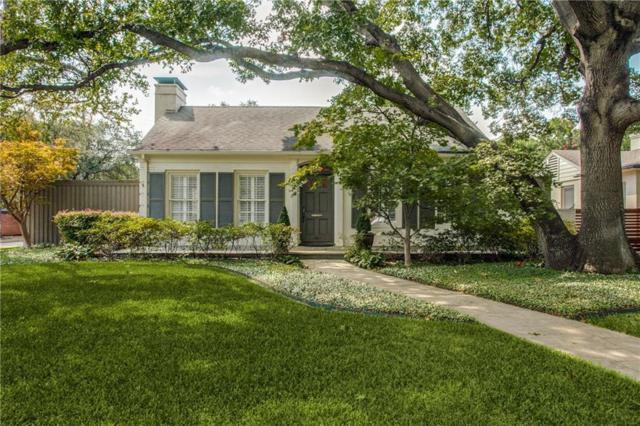 4601 N Versailles Avenue, Highland Park, TX 75209 (MLS #13963914) :: Robbins Real Estate Group
