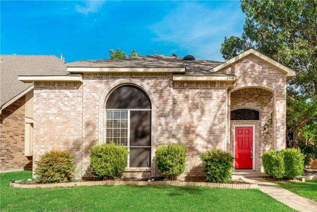 2818 Lake Valley Drive, Garland, TX 75040 (MLS #13964014) :: The Hornburg Real Estate Group