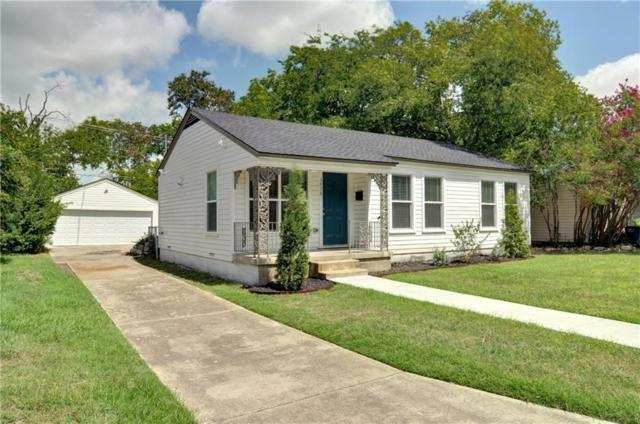 3436 Brady Avenue, Fort Worth, TX 76109 (MLS #13964445) :: RE/MAX Town & Country