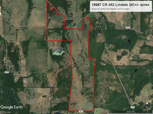 18887 County Road 452, Lindale, TX 75771 (MLS #13964624) :: Steve Grant Real Estate