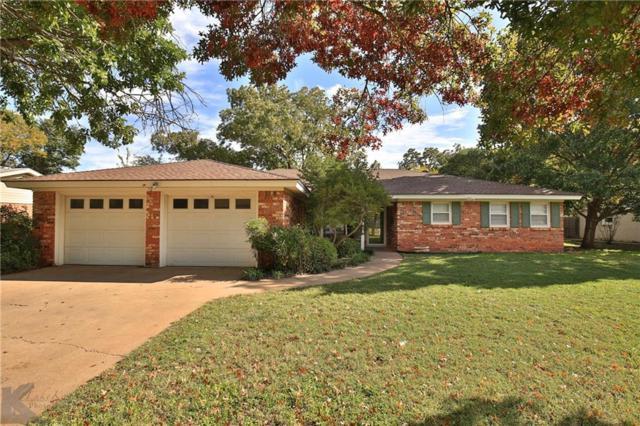 2049 Greenbriar Drive, Abilene, TX 79605 (MLS #13965004) :: The Real Estate Station