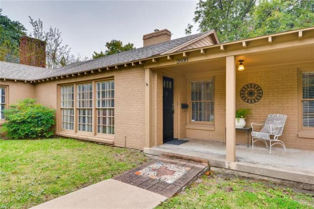2608 6th Avenue, Fort Worth, TX 76110 (MLS #13965139) :: RE/MAX Town & Country